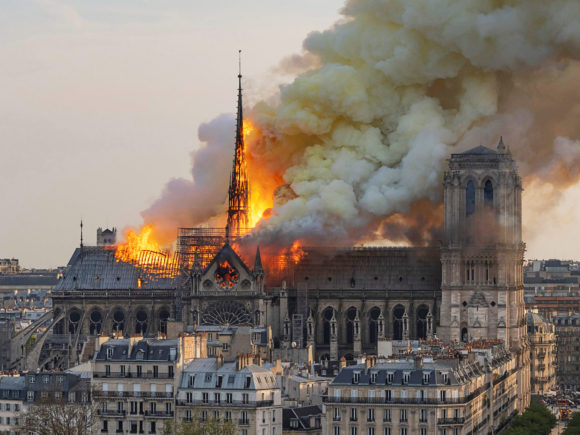 French President Vows to Rebuild Notre Dame After Horrific Fire